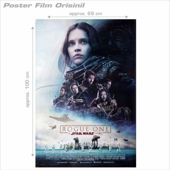 Harga Movie Poster: Rogue One A Star Wars Story - original Indonesian one sheet 69 x 70 cm