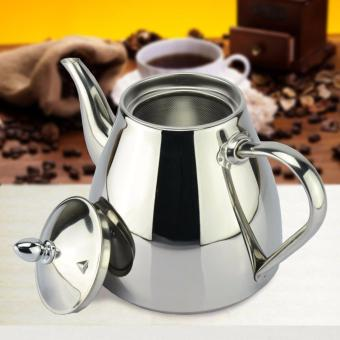 1 pcs 1.2L new style stainless steel Tea pot and Coffee Drip Kettle pot teapot
