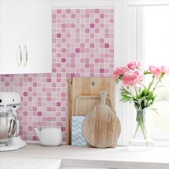 ... Home Decor Wallsticker Stiker Dinding AY9091 Colorful Source Harga WallPaper WallSticker CORAL FABRIC