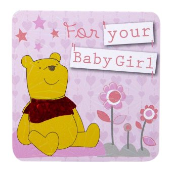 Harga Disney Winnie The Pooh for your Baby Girl Mini Gift Card