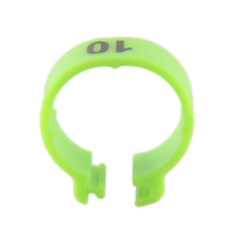 Harga 100Pcs Set Poultry Leg Bands Parrot Green Rings