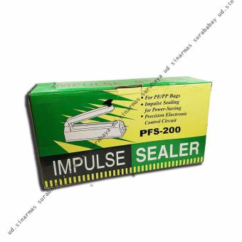 Harga Sealer Impulse (Las Plastik) Bodi PVC 200mm (20cm)