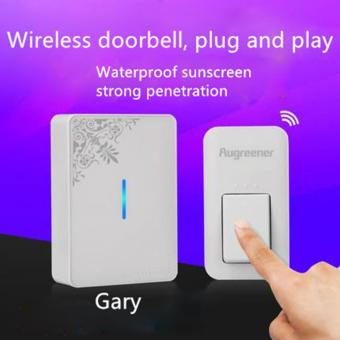 Harga AGN E2 NO NEED BATTERY! Economic and Reliable Self Powered Doorbells Wireless door bell - intl
