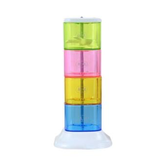 Harga StarHome Rak Tempat Bumbu Seasoning Box Serbaguna 4 in 1 - Tempat Bumbu Menara