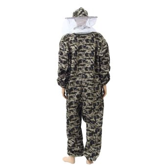 Harga New Protective Pants Veil Bee Protecting Dress Camouflage Beekeeping Suit L - intl