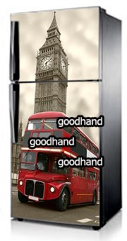 Harga Goodhand Sticker Kulkas 1 Sisi 60x150 Seri London Bus Tower Big Ben