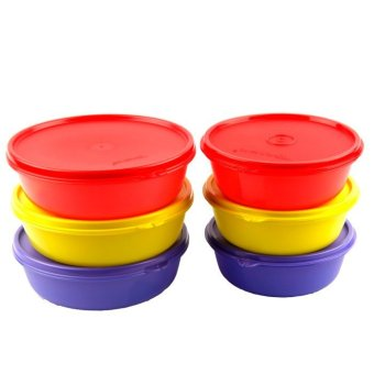 Harga Tupperware Multi Bowl 6pcs - Multi Colour