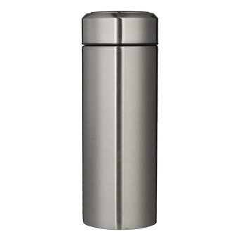 Harga 450Ml Silver Thermos Cup 304 Stainless Steel Insulated Mug With Teainfuser Thermo Mug Garrafa Termica Coffee Thermo Mugs Male Gift - intl