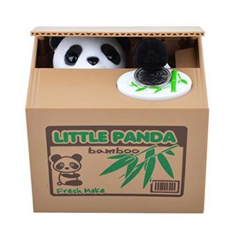Cute Automated Panda Steal Coin Bank Piggy Bank Money Saving Box as Xmas Gift