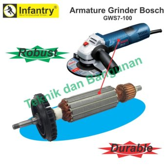 Bosch Gws 5 100 Handle Mesin Gerinda 4 Batu Gerinda Potong Wd Source · Bosch GWS 060 NEW Source Infantry Armature Angker Gerinda GWS7