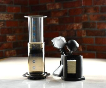 Harga Best Espresso Portable Coffee Maker Haole Press Aeropress Coffee Maker Coffee Press Maker With Metal Filter - intl