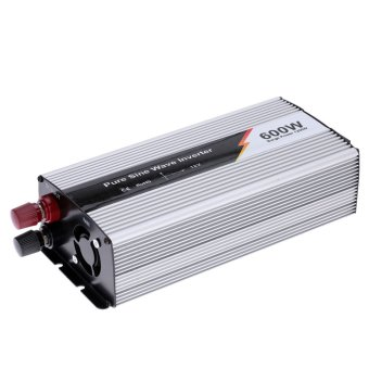 600W(1200W Peak) Pure Sine Wave Power Inverter Household Car Power Converter Charger Adapter