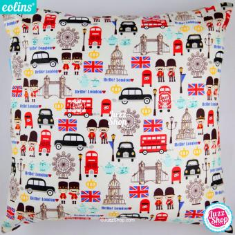 Harga Eolins Bantal Sofa Hello London JSPS087 Krem