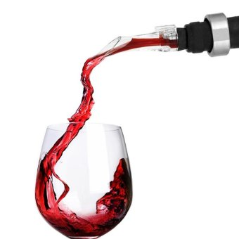 Harga Acrylic Traveling Spout Wine Aerator Decanter - intl