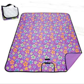 Harga Carpet Traveling Foldable Waterproof Garden Party Recreation Hiking Mat Plastic Baby & Kids Children Playing A50