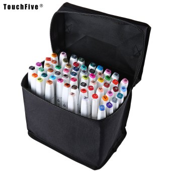 Harga TouchFive Colors Graphic Art Twin Tip Pen Marker Point (WHITE)