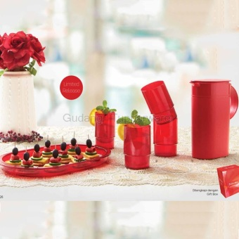 Harga Tupperware Classy Red Collection