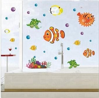Harga Kamar Mandi Tahan Air Gelembung Yang Dapat Dilepas Ikan Wall Stiker Untuk Anak Bayi