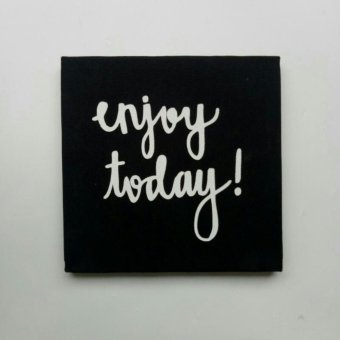 Harga Poster Kanvas / Canvas Poster - Enjoy Today!