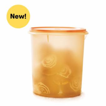 Harga Tupperware Giant Canister - Gold Edition