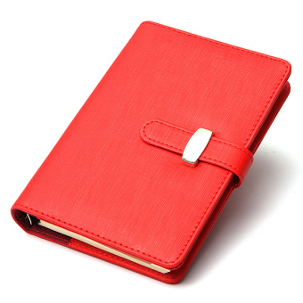 Harga Identity Dairy Personal Planner Organiser Leather Hook Note Book Filofax Gift Red