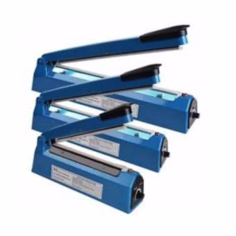 Harga luxury Impulse Sealer PFS-300 Pres Plastik 30 Cm - Biru