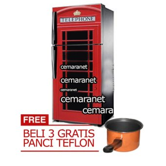 Harga Goodhand Sticker Kulkas 1 Sisi Seri LondonPhone Booth