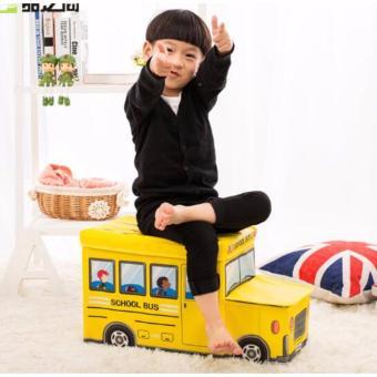 Harga Bus Storage Box storage Tempat mainan toys