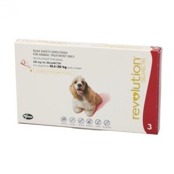 Harga Zell Revolution Red For Dogs