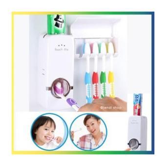 Dispenser Odol / Pasta Gigi dan Tempat Sikat Gigi