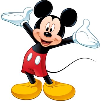 Harga Mickey Mouse Giant Wall Decal