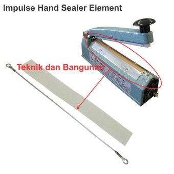 Harga OEM 40cm Impulse Sealer Element/Elemen Pemanas Sealer @5pcs