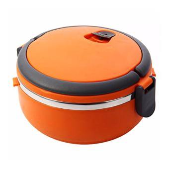Harga Eco Lunch Box Stainless Steel Rantang 1 Susun Orange
