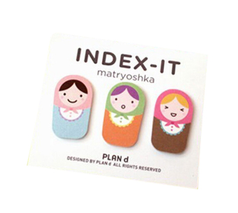 Harga Amango Matryoshka Doll Sticker Bookmark Sticky Notes