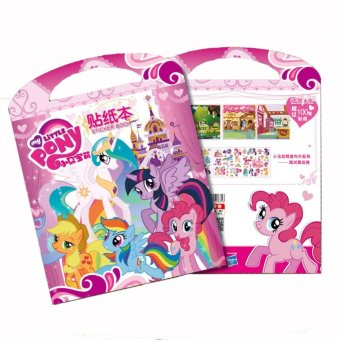 Harga Catwalk Frozen My Little Pony Mickey Coloring Book Party For Kids 12 Pages With Sticker - intl