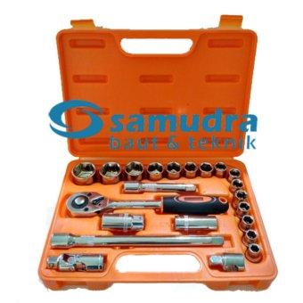 Harga KENMASTER Kunci Sok Set 22 Pcs PREMIUM PROFESSIONAL Socket Wrench