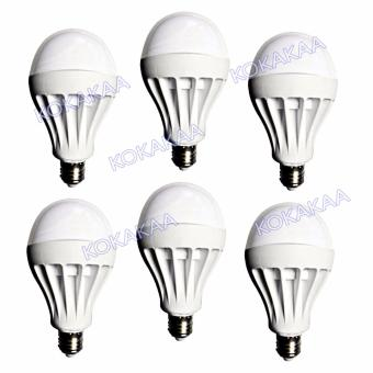 Sunfree Bohlam LED Bulb Cool White 9 Watt Bundle 6 Pcs