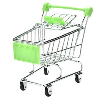 Harga Mini Supermarket Shopping Cart Parrot Bird Intelligence Growth Training Kids Toy Green