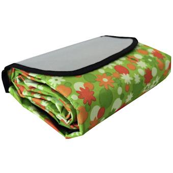 Harga Eigia Tikar Tamasya Piknik Lipat Karpet Outdoor Perlengkapan Rekreasi Mudah Kemas Tas Bahan Nylon Fleece