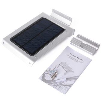 Harga XCSource Solar Powered Wall Light 46Led Wireless PIR Motion Sensor Security