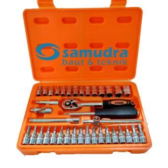 Harga KENMASTER Kunci Sok Set 38 Pcs PREMIUM PROFESSIONAL Socket Wrench