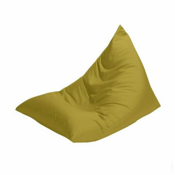 Harga Kursi santai bean bag triangel - Emerald