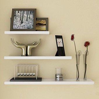 Harga Floathing Shelves Set 3 Pcs ( 50 x 10 , 40 x 10 , 30