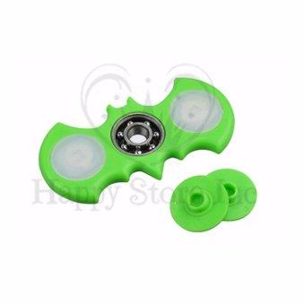 Harga Happy Fidget Spinner Hand Spinner LED Spiner Bat Hand Toys Focus Games / Mainan Spiner