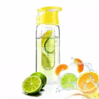 Harga Tritan 2nd Generation - Infused Water Bottle - Kuning