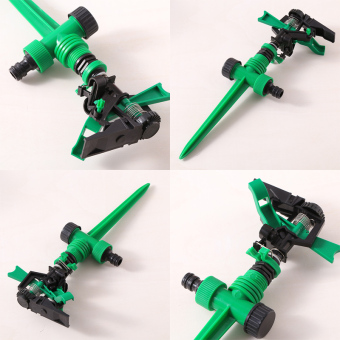 Harga new Garden Metal Spike rotating Water Nozzle Impulse Sprinkler Fitting