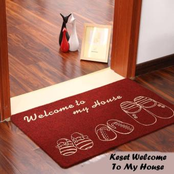 Harga StarStore Keset Welcome To My Home / Carpet / Rug -