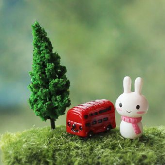 Harga Miniature Pine Tree for Doll Garden Decoration (Green)