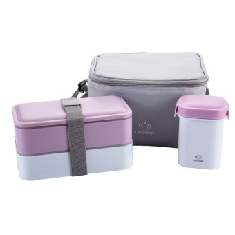 Bento Box Insulated Lunch Box Set. Best Bento box Lunch Bag for Adults with Divided