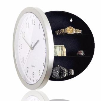 Harga Safe Clock Brankas Jam Dinding Hidden Secret Wall Clock Safe Container Box for Money Stash Jewelry Storage